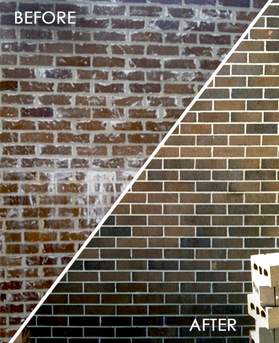 Rapid Pressure Cleaning - Brick Cleaning