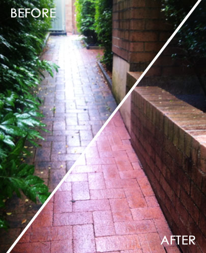 Rapid Pressure Cleaning - Pavers