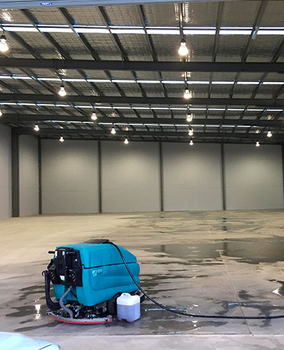 Rapid Pressure Cleaning - Warehouse